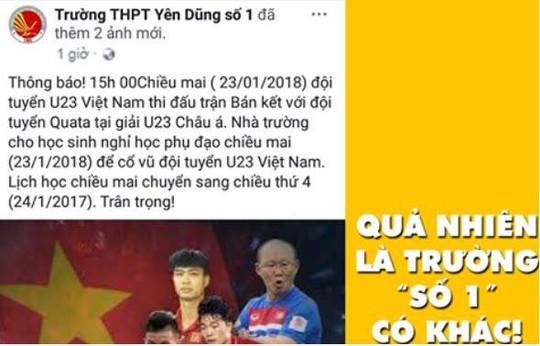 Nghỉ họp, nghỉ làm... để tiếp lửa U23 Việt Nam - Ảnh 5.