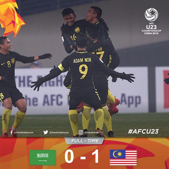 Sau khi chê U23 Việt Nam, HLV Ong Kim Swee đưa Malaysia vào tứ kết - Ảnh 2.
