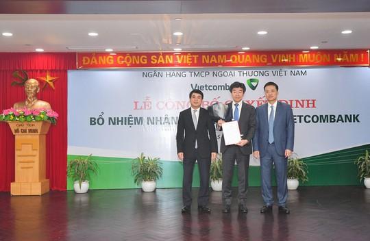Vietcombank bổ sung lãnh đạo cấp cao - Ảnh 1.