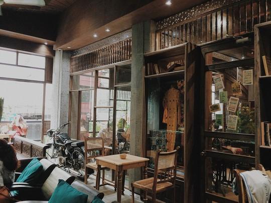Năm mới, thả hồn phiêu bồng tại quán cà phê hoài niệm ở TP HCM - Ảnh 3.