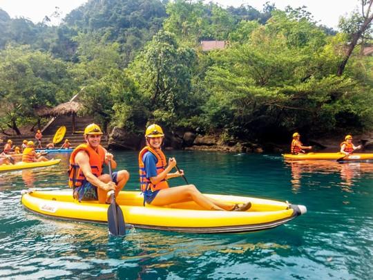 Điểm du lịch Sông Chày - Hang Tối luôn thu hút du khách tại Phong Nha – Kẻ Bàng