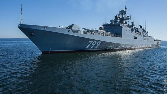 Nga tập trận tên lửa lớn ngoài khơi Syria - Ảnh 1.