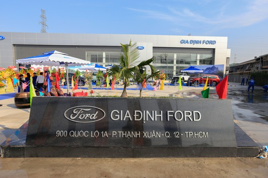 Ford Việt Nam khai trương đại lý chính hãng Gia Định Ford - Ảnh 2.