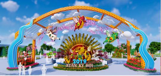 Đẹp rụng rời lễ hội hoa xuân tại Sun World Halong Complex - Ảnh 1.