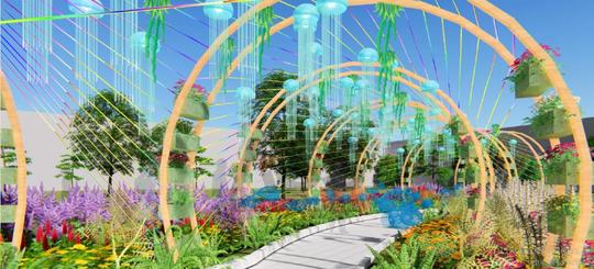 Đẹp rụng rời lễ hội hoa xuân tại Sun World Halong Complex - Ảnh 4.