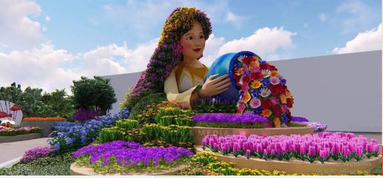 Đẹp rụng rời lễ hội hoa xuân tại Sun World Halong Complex - Ảnh 5.