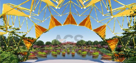 Đẹp rụng rời lễ hội hoa xuân tại Sun World Halong Complex - Ảnh 2.