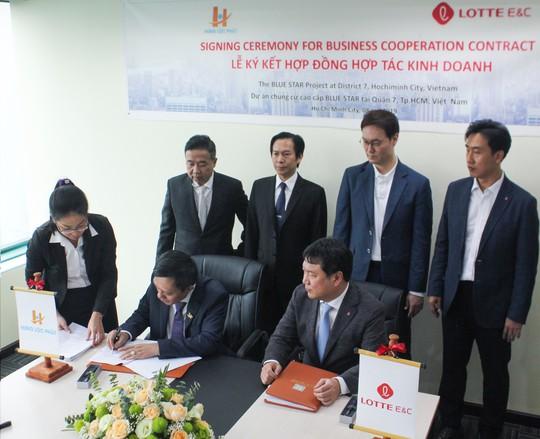 Tập đoàn Lotte đầu tư vào Hưng Lộc Phát Corporation - Ảnh 1.