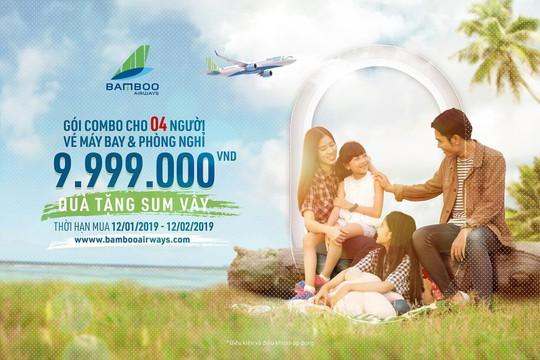 Bamboo Airways cất cánh từ ngày 16-1: Giá vé thấp nhất từ 149.000 VND - Ảnh 1.