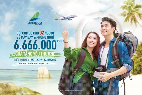 Bamboo Airways cất cánh từ ngày 16-1: Giá vé thấp nhất từ 149.000 VND - Ảnh 2.