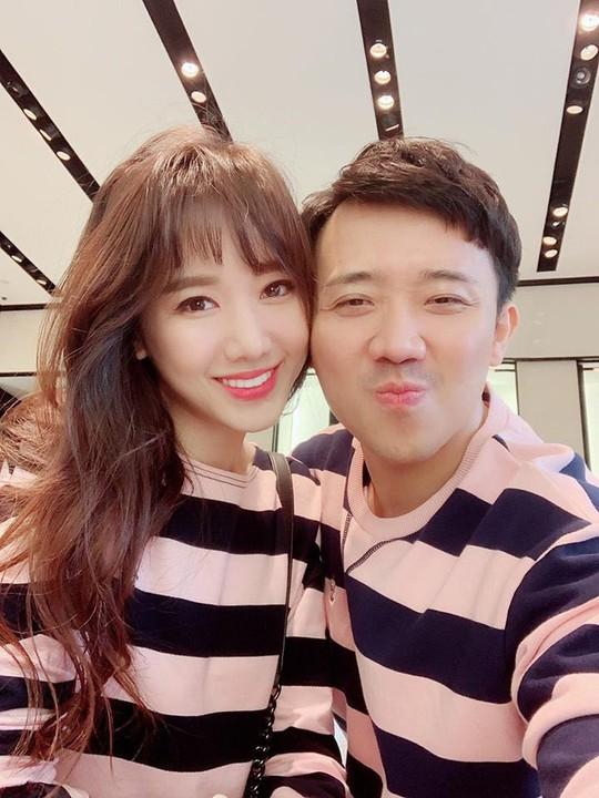 Trấn Thành và Hari Won kỷ niệm 3 năm yêu nhau - Ảnh 2.