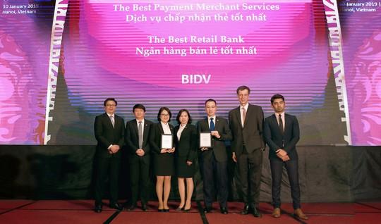 BIDV nhận giải Ngân hàng Bán lẻ tốt nhất Việt Nam 5 năm liên tiếp - Ảnh 1.