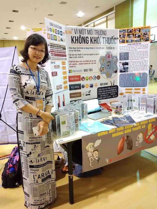 Dự án Vì một môi trường không khói thuốc đoạt giải nhất Diễn đàn giáo dục sáng tạo Việt Nam - Ảnh 3.