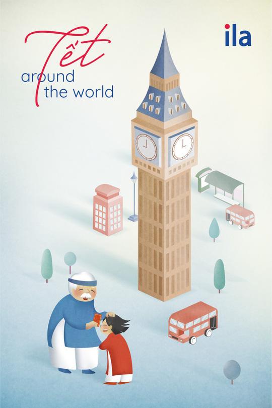 Tết Around The World - Dự án nghệ thuật sáng tạo ngày Tết của ILA - Ảnh 1.