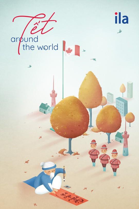 Tết Around The World - Dự án nghệ thuật sáng tạo ngày Tết của ILA - Ảnh 2.