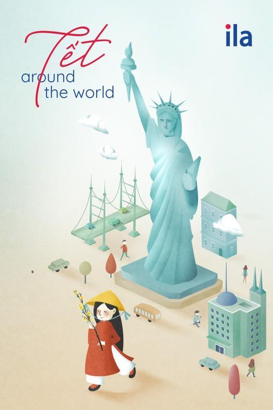 Tết Around The World - Dự án nghệ thuật sáng tạo ngày Tết của ILA - Ảnh 3.