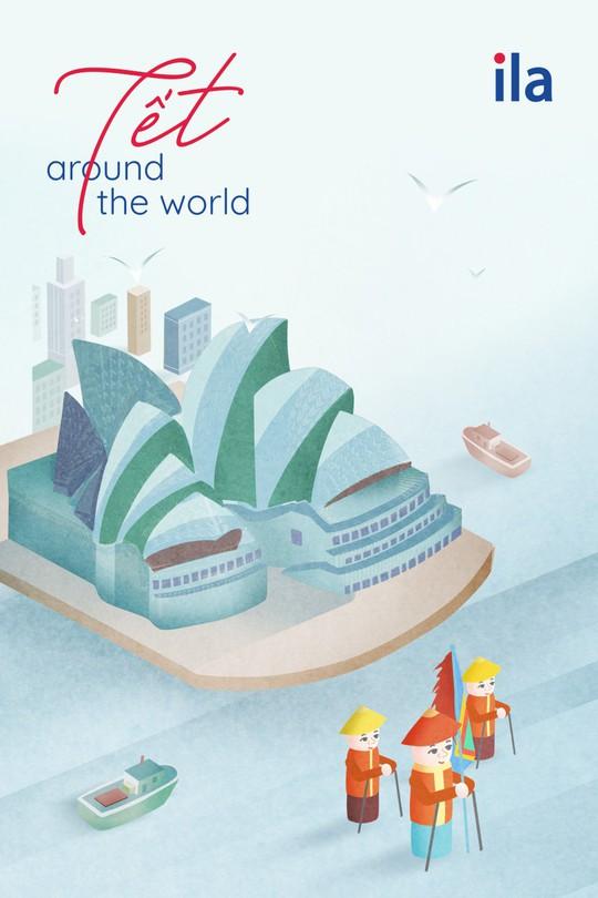 Tết Around The World - Dự án nghệ thuật sáng tạo ngày Tết của ILA - Ảnh 4.