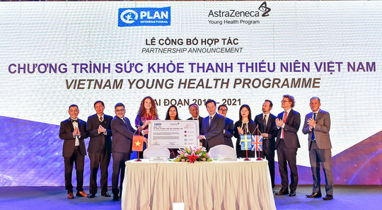 AstraZeneca ký kết thoả thuận hợp tác với Bệnh viện K - Ảnh 1.