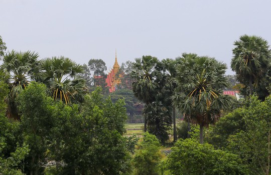 Hồ nước nổi tiếng với món gà đốt ở An Giang - Ảnh 10.