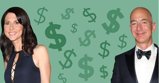 """Vụ ly hôn của tỷ phú Jeff Bezos: """"Kịch bản"""" chia 137 tỷ USD - Ảnh 1."""