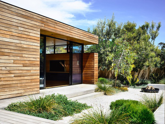 Ngôi nhà tuyệt đẹp kết hợp giữa bê tông và gỗ - Ảnh 3.