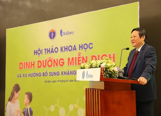 Bộ Y tế lần đầu tiên hội thảo về Dinh dưỡng miễn dịch - Ảnh 1.