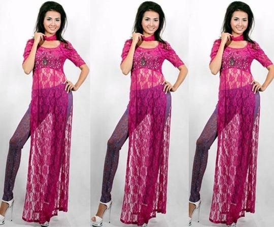 Thảm họa thời trang khi mỹ nhân Việt diện áo dài phản cảm - Ảnh 5.
