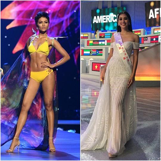 HHen Niê và Trần Tiểu Vy vào top 50 Hoa hậu của các hoa hậu 2018 - Ảnh 1.