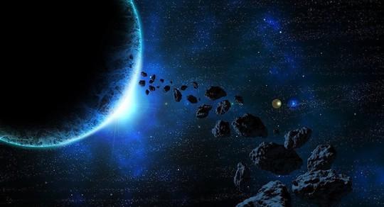 Nhiều tiểu hành tinh có thể đe dọa trái đất trong thời gian tới và 99942 Apophis là một trong những kẻ nguy hiểm nhất - ảnh: SPUTNIK