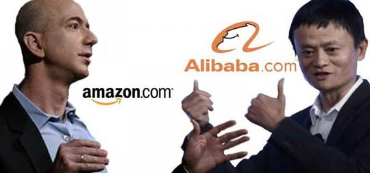 Đại chiến Amazon-Alibaba tại thị trường Việt Nam - Ảnh 1.