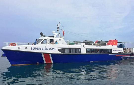 Quảng Ngãi: Tàu chở khách tông chìm tàu cá khiến nhiều người hoảng loạn - Ảnh 1.