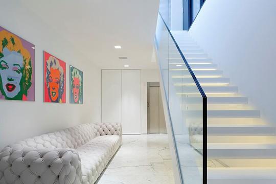 Ngôi nhà trắng tinh khôi đẹp ngất ngây ai nhìn cũng mê - Ảnh 13.
