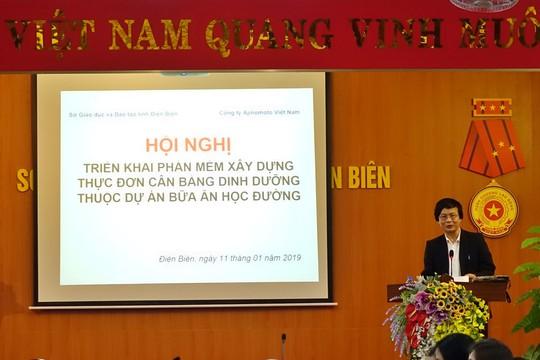 Điện Biên nâng cao chất lượng bữa ăn học đường - Ảnh 3.