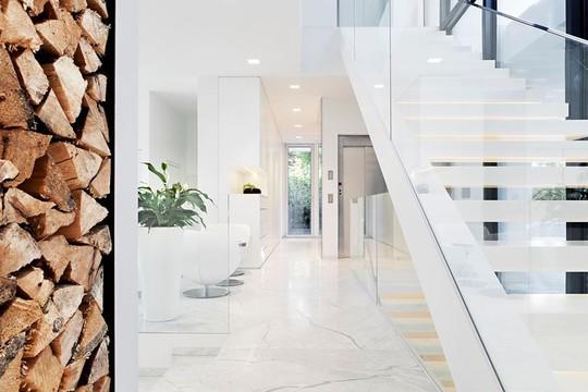 Ngôi nhà trắng tinh khôi đẹp ngất ngây ai nhìn cũng mê - Ảnh 6.