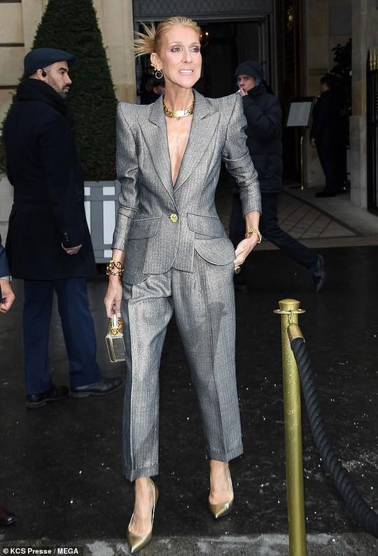Sốc với thân hình gầy nhom của họa mi Celine Dion - Ảnh 2.
