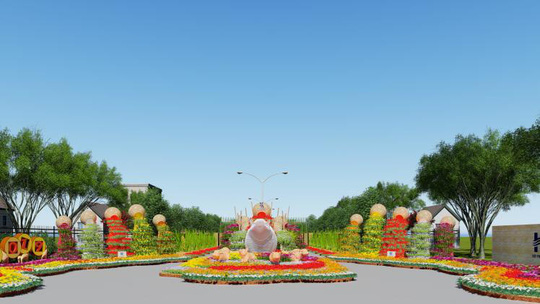 28-1 khai mạc Hội Hoa Xuân Hiệp Phước Tết Kỷ Hợi 2019 - Ảnh 1.
