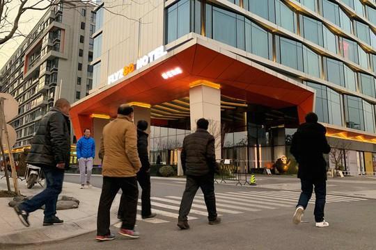 Bên trong khách sạn trí tuệ nhân tạo đầu tiên tại Trung Quốc - Ảnh 1.