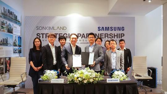 SonKim Land và Samsung Electronics ký kết hợp tác chiến lược - Ảnh 2.