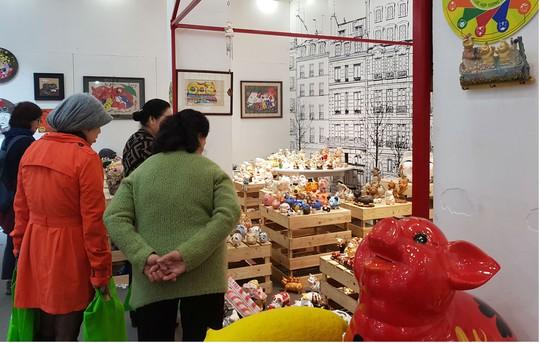 Ngắm 2.000 con 'lợn sung túc' tại Bảo tàng Phụ nữ Việt Nam - Ảnh 3.