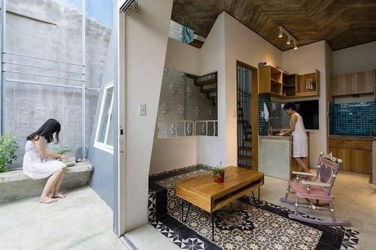 Nhà trong ngõ chỉ 35m2 vẫn thiết kế đẹp như mơ - Ảnh 8.