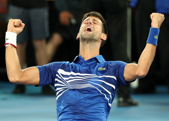 Clip: Thắng áp đảo Nadal, Djokovic lập kỷ lục vô địch ở Úc mở rộng - Ảnh 2.