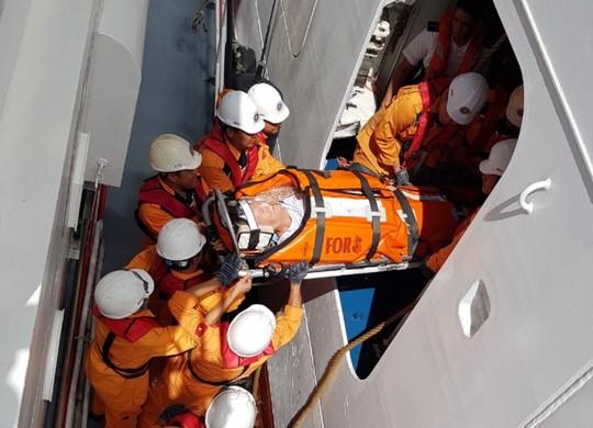 Cấp cứu khẩn du khách Mỹ trên du thuyền quốc tế giữa biển - Ảnh 1.