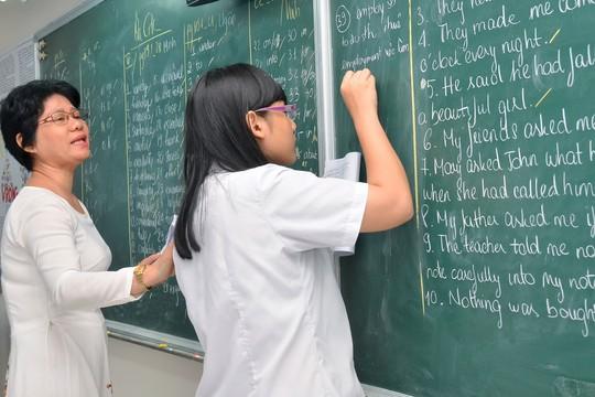 Học sinh giỏi có nhiều cơ hội xét tuyển - Ảnh 1.