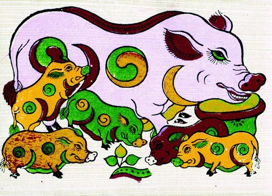 Con lợn và chữ 家 - Ảnh 2.