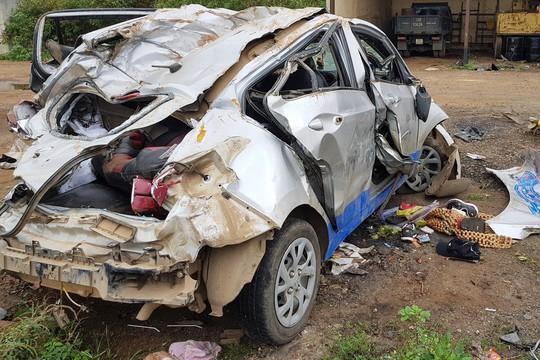 Vụ tai nạn taxi 3 người chết: Nữ tài xế chạy 107 km/giờ sau tiệc sinh nhật - Ảnh 1.