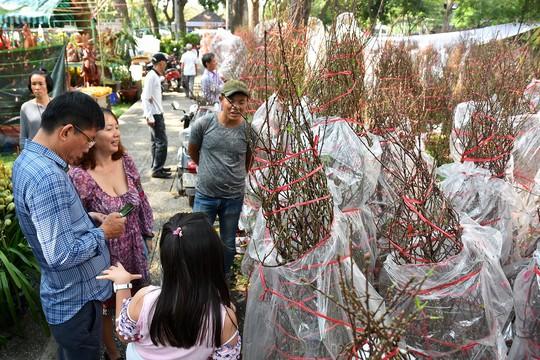 Chợ hoa Tết Bến Bình Đông ngày càng đìu hiu dù cận Tết - Ảnh 11.