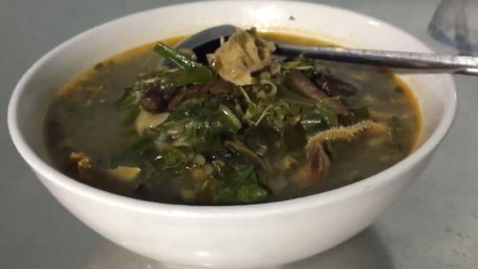 Hấp dẫn món gié bò Bình Định - Ảnh 2.