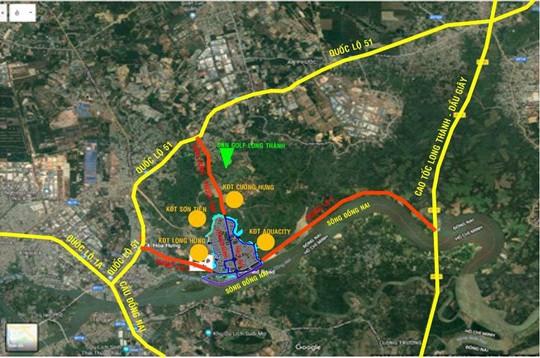 Nam Long đầu tư hơn 2.300 tỉ đồng vào dự án Dong Nai Waterfront City - Ảnh 1.