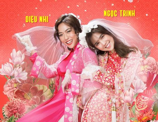 Ngọc Trinh, Diệu Nhi rực rỡ trong đám cưới miền Tây - Ảnh 1.