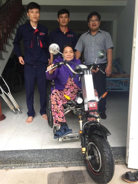 ĐH Duy Tân chế tạo xe lăn điện cho người khuyết tật Đà Nẵng - Ảnh 5.
